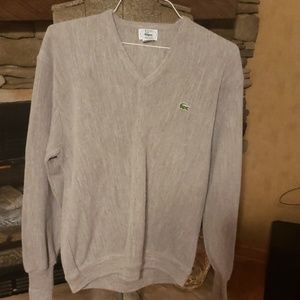 Izod Lacoste v neck sweater